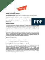 Síntesis de proyecto de sentencia de amparo de ARTICLE 19 sobre Publicidad Oficial