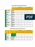 Cronograma de Desarrollo de Pruebas