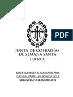 BASES Concurso Decartel Semana Santa de Cuenca 2018 (Anexo II)