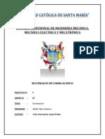cuestionario n°9 de materiales de fabricación II