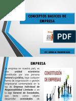 1° SEMANA IDENTIFIC. E  INTERP. DE CONCEP. BASICOS DE EMP.