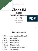 Charla Investigacion de Mercado, A MELLER