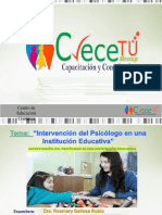 Intervencion Del Psicologo Institucion Educativa-julio2017