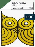 Arquelogia Del Saber Michael Foucault