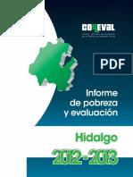 Informe Pobreza e Hidalgo 2012 Web