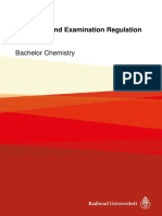 Education and Examination Regulation 2017-2018 Bachelor Chemistry
