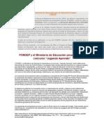 Fondo Nacional de Desarrollo Para La Educación Peruana