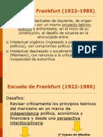 Escuela de Frankfurt y Max Horkheimer