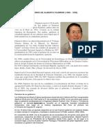 El Gobierno de Alberto Fujimori