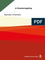 Onderwijs- En Examenregeling 2017-2018 Bachelor Chemistry