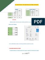 Excel de Diseño de Caida Vertical Con Obstaculos Para Choques