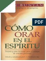 Como Orar en El Espiritu_Juan Bunyan