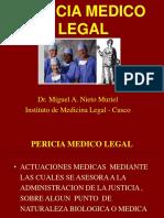 Pericias Medico Legales