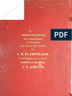 Plan de Independencia de la América Septentrional (Plan de Iguala)