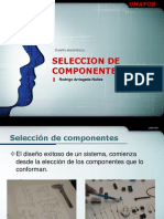 Diseño Electronico - Seleccion de Componentes