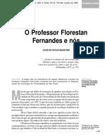 O Prof. Florestan e Nós. José de Souza Martins.pdf