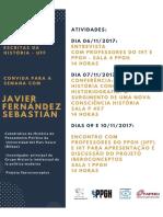 """Javier Fernández Sebastián - """"História Conceitual e Historiografia. O surgimento de uma nova consciência histórica"""""""