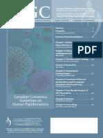 Canadian Consensus Guidelines on Human Papillomavirus