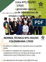 255652108 Requisitos de La Norma NTC ISO IEC 17025