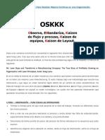 Metodología OSKKK Para Realizar Mejora Continua en Una Organización
