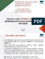 alcalinidade - UNIVALI PPT