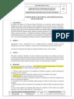 Formato de Informe de Simulacro Parcial