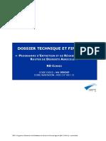 Dossier Technique Et Financier Du Programme d'Entretien Et de Réhabilitation Des Routes de Desserte Agricole – RD Congo