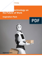 Impact of Technology on the Future of Work