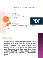Myofascial Trigger Point Syndrome