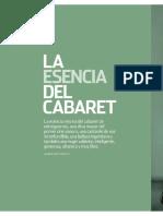 Marlene Dietrich, La Esencia Del Cabaret