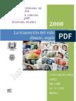 Transición Valor en Dinero según Marx - J. C. López