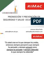 Material de Apoyo Promoci n y Prevenci n en Seguridad y Salud Ocupacional 2017