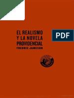 Jameson Fredric. El Realismo Y La Novela Providencial