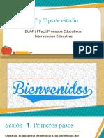 TIC y Tips de Estudio Sesión 1