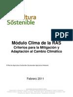 Modulo Clima de La RAS Febrero 2011