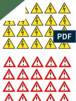 Simbol Bahaya Listrik