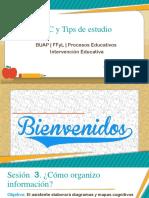 TIC y Tips de Estudio Sesión 3
