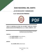 """""""NIVEL DE IDENTIDAD CULTURAL EN LOS NIÑOS Y NIÑAS DEL TERCER GRADO.pdf"""