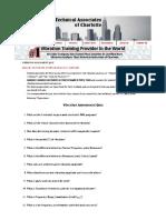 Vibration Assessment Quiz to Determine Entry vs Analysis I