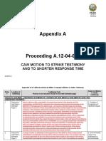 Appendix a CAW 10-12-17