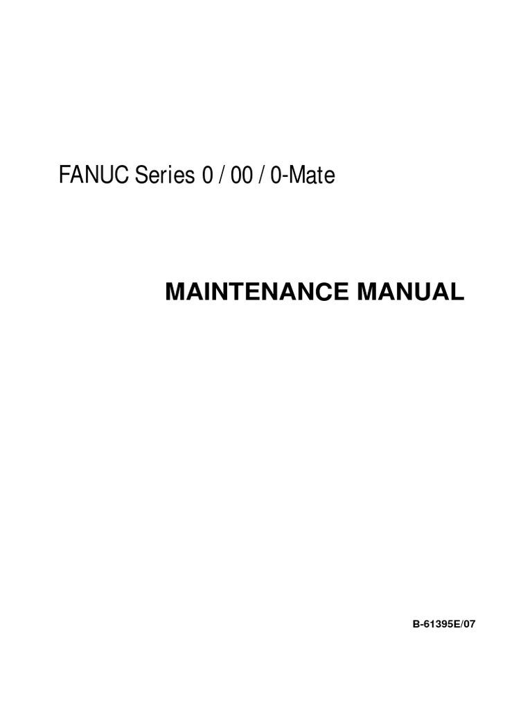 Fanuc Alpha Series Servo Motor Maintenance Manual - 65165e | High Voltage |  Parameter (Computer Programming)
