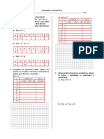 Funciones Cuadráticas_practica Tercero