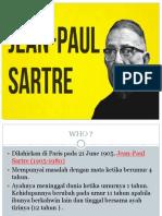Jean Paul Sarte New