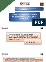ASPECTOS DEL CURRICULO NACIONAL