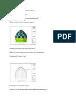 Motif Kubah Masjid Miftahul Iman Loakulu
