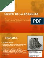Grupo de La Enargita y Sulfosales de Plomo
