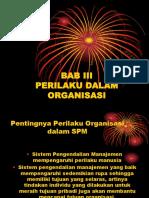 2. Perilaku Dalam Organisasi