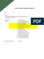 Rencana Audit Internal