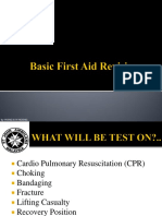 Basic First Aid Revision2