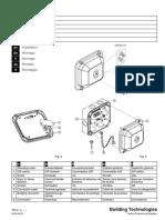 A6V10069578 Installation Instructions Flame Detector BR Flammenmelder BR Détecteur de En